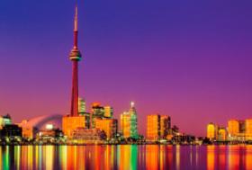 画像:11月 トロント(カナダ) エンドレスシティ・世界の夜景 2018年カレンダー