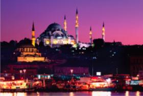画像:5月 イスタンブール(トルコ) エンドレスシティ・世界の夜景 2018年カレンダー
