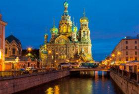 画像:10月 サンクトペテルブルグ歴史地区(ロシア) ユネスコ世界遺産 2018年カレンダー