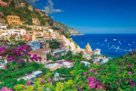 画像:7月 アマルフィ海岸(イタリア) ユネスコ世界遺産 2018年カレンダー