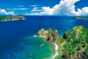 画像:8月 小笠原諸島(日本) ユネスコ世界遺産 2018年カレンダー