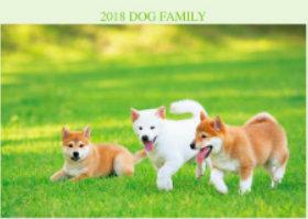 画像:5月 柴 ドッグファミリー 2018年カレンダー