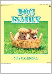 ドッグファミリー 2018年カレンダー