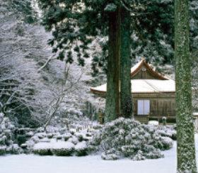 画像:11-12月 三千院(京都) 庭の心 2018年カレンダー