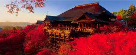 画像:9-10月 清水寺(日本) 世界遺産 2018年カレンダー