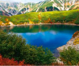 画像:10月 みくりが池(富山) 美しき日本 2018年カレンダー