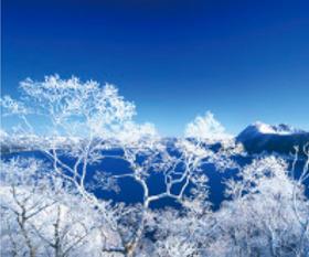 画像:12月 摩周湖(北海道) 美しき日本 2018年カレンダー