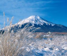 画像:1月 富士山(山梨) 美しき日本 2018年カレンダー