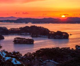 画像:2月 松島(宮城) 美しき日本 2018年カレンダー