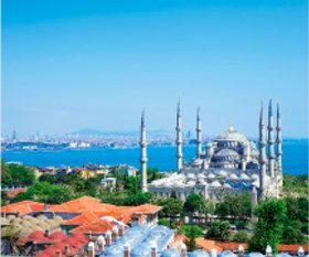 画像:1月 イスタンブール(トルコ) 世界の景観 2018年カレンダー