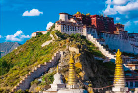 画像:10月 ボタラ宮(中国) 文化遺産の旅(ユネスコ世界遺産) 2018年カレンダー
