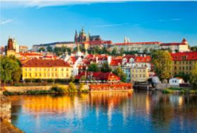 画像:1月 プラハ歴史地区(チェコ) 文化遺産の旅(ユネスコ世界遺産) 2018年カレンダー