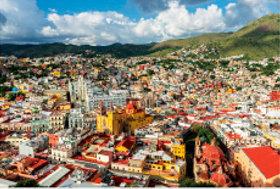 画像:3月 グアナフアト(メキシコ) 文化遺産の旅(ユネスコ世界遺産) 2018年カレンダー