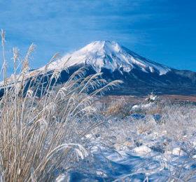画像:1月 富士山(山梨) ワイドニッポン十二選(フィルムカレンダー) 2018年カレンダー