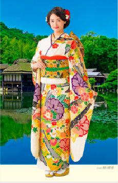 画像:1-2月 古泉葵(玄宮園/滋賀) 女優・すがた 2018年カレンダー