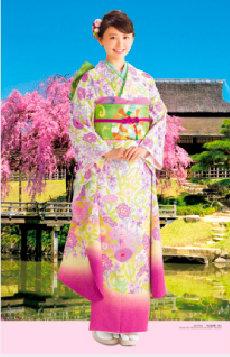 画像:3-4月 おのののか(岡山後楽園/岡山) 女優・すがた 2018年カレンダー