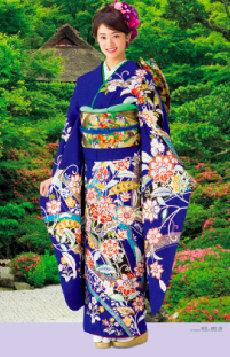 画像:5-6月 古泉葵(金福寺/京都) 女優・すがた 2018年カレンダー