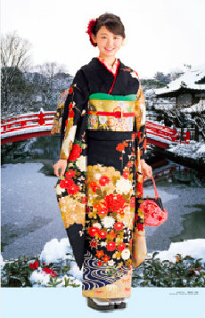 画像:11-12月 おのののか(神泉苑/京都) 女優・すがた 2018年カレンダー