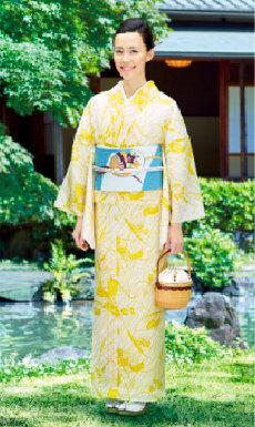 画像:7-8月 よそおい・木村佳乃 2018年カレンダー