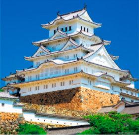 画像:1-2 姫路城(兵庫) 日本の名城 2018年カレンダー