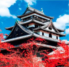 画像:9-10月 松江城(島根) 日本の名城 2018年カレンダー