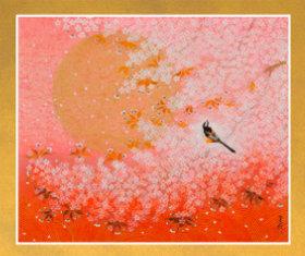 画像:3-4月 桜花月 花鳥諷詠 石踊達哉 2018年カレンダー