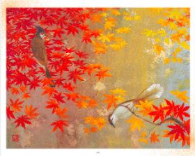 9-10月 錦秋 鳥山玲作品集 2018年カレンダーの画像