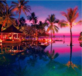 画像:11-12月 ロンボク島(インドネシア) 世界のリゾート(フィルムカレンダー) 2018年カレンダー