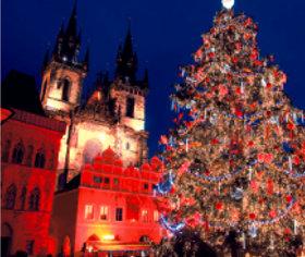 画像:11-12月 プラハ(チェコ) 世界の名勝(フィルムカレンダー・小) 2018年カレンダー