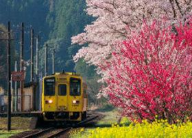 画像:3-4月 日田彦山線「城野~夜明」(福岡-大分) ローカル線紀行 2018年カレンダー