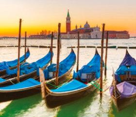 画像:7月 ヴェネツィア(イタリア) ファンタジーワールド(B) 2018年カレンダー