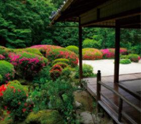 画像:5月 詩仙堂(京都) 庭の詩情 2018年カレンダー
