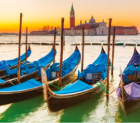 画像:7月 ヴェネツィア(イタリア) ファンタジーワールド(A) 2018年カレンダー