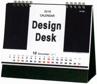デザインデスク 2018年カレンダー