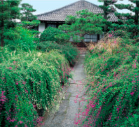画像:9月 常林寺(京都) 日本の美 2018年カレンダー