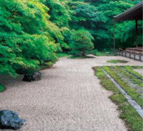 画像:8月 天授庵(京都) 日本の美 2018年カレンダー