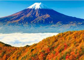画像:11月 三つ峠より(山梨) 富士十二景 2018年カレンダー