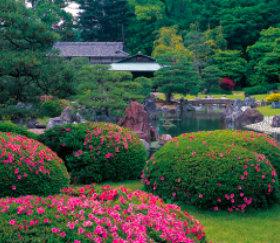 画像:京都 清流園 四季の庭 2019年カレンダー