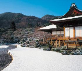 画像:京都 大河内山荘 四季の庭 2019年カレンダー