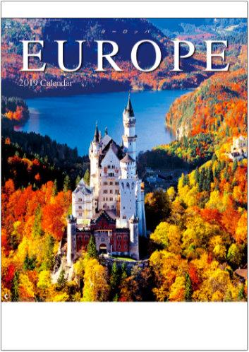 表紙 ヨーロッパ 2019年カレンダーの画像