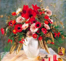 画像: 花の贈り物 2019年カレンダー