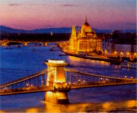 画像:ハンガリーのブダ城 世界の名城巡り 2019年カレンダー