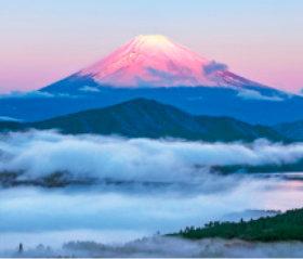 画像:山梨県 富士山 日本の朝 2019年カレンダー