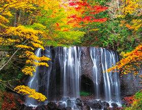 画像:福島県 達沢不動滝 ザ・日本 2019年カレンダー