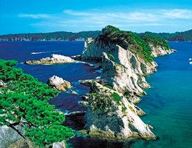 画像:岩手県 浄土ヶ浜 ザ・日本 2019年カレンダー