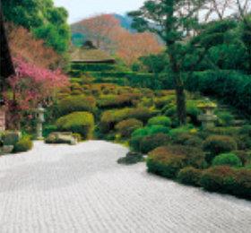 画像:金福寺 庭(フィルムカレンダー) 2019年カレンダー