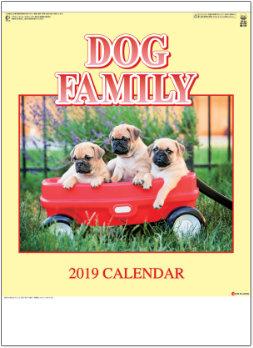 ドッグファミリー 2019年カレンダー