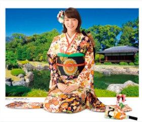 画像:飯豊まりえ・二条城清流園 女優・きものと庭園 2019年カレンダー