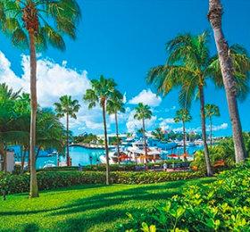 画像:パラダイス島(バハマ) 世界のリゾート(フィルムカレンダー) 2019年カレンダー