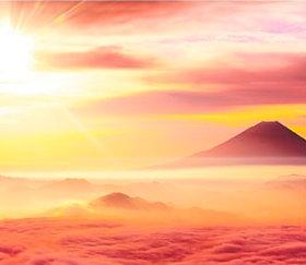 画像:山梨県 櫛形山より富士山 日本の詩情(フィルムカレンダー・小) 2019年カレンダー